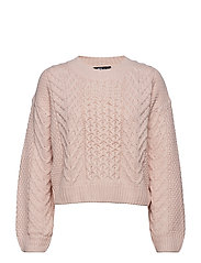 Elisa knitted sweater - PINK TINT