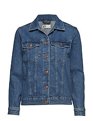 Solange denim jacket - TRUE BLUE
