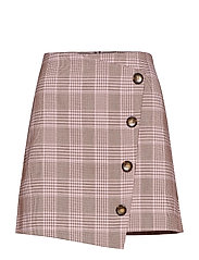 Lizzy checked skirt - PINK