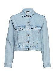 Trucker denim jacket - LT BLUE