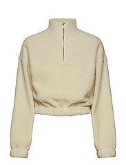 Bella teddy sweater - OFFWHITE