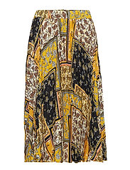 Vanja pleated skirt - PAISLEY PATCH