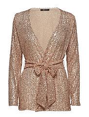 Silvana sequins jacket - PINK CHAMPAGNE
