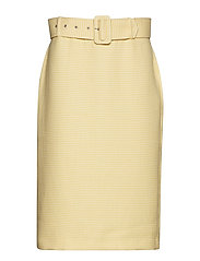 Reese skirt - YELLOW CHECK