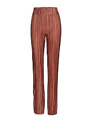 Lydia pleated trousers - RUST