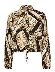 Magda blouse - PASTEL SCARF