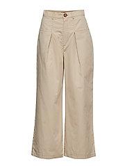 Sonja trousers - WHITE PEPPER