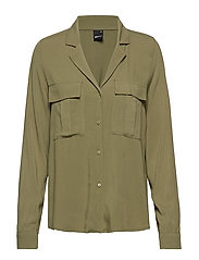 Sammy utility shirt - KHAKI GREEN