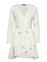 Elina wrap dress - OFFWHITE