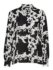 Millie blouse - COW AOP