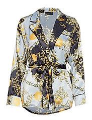 Vilja blouse - SEALIFE AOP BIG