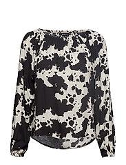 Saga blouse - COW AOP