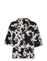Divia Blouse - COW AOP