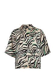 Divia Blouse - ZEBRA MIX