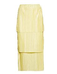 Meja pleated skirt - YELLOW