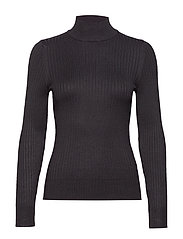Julia knitted sweater - BLACK