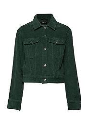 Hailey corduroy jacket - TREKKING GREEN