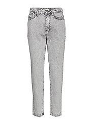 Dagny mom jeans - GREY SNOW