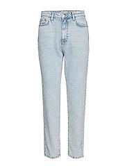 Dagny mom jeans - LT BLUE SNOW
