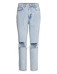 Dagny mom jeans - SKY BLUE DEST (5070)