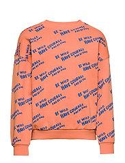 Mini sweatshirt - ORANGE COURAGE AOP