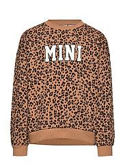 Mini sweatshirt - TAN/LEO