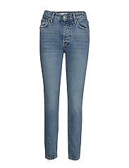 Tove original slim jeans - MID BLUE