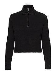 Ingrid knitted sweater - BLACK