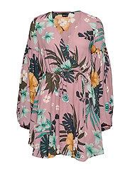 Lillian dress - SOFT FLOWER AOP