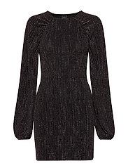 Amberlee puff sleeve dress - MULTI GLITTER