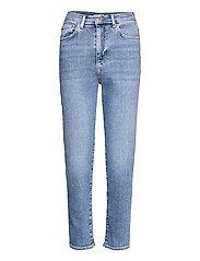 Comfy mom jeans - INDIGO BLUE (5037)