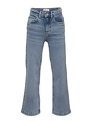 Mini wide jeans - BLUE