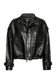 Hope pu jacket - BLACK (9000)