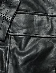 Gina Tricot - Hope pu jacket - skinnjakker - black (9000) - 4