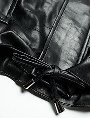 Gina Tricot - Hope pu jacket - skinnjakker - black (9000) - 5