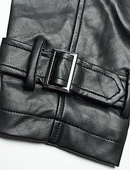 Gina Tricot - Hope pu jacket - skinnjakker - black (9000) - 6