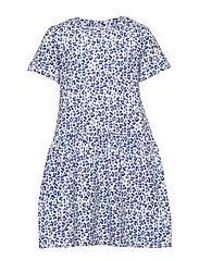 Mini bell dress - LEO BLUE (5533)