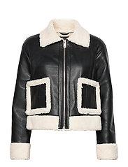 Amanda trucker jacket - BLACK (9000)
