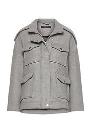 Lollo jacket - LT GREY