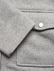 Gina Tricot - Lollo jacket - wool jackets - lt grey - 4