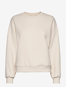 Basic sweater - sweats - cream (1047)