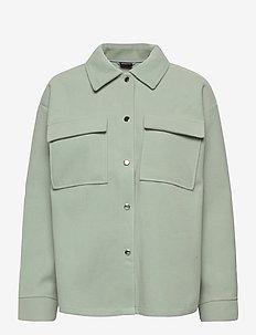 Majken jacket - tunna jackor - aqua gray (5187)