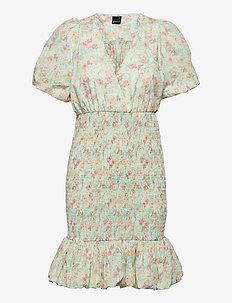Anina dress - robes moulantes - romantic floral (9402)
