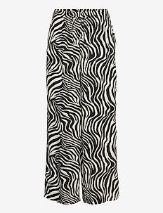 Disa trousers - bukser med brede ben - zebra
