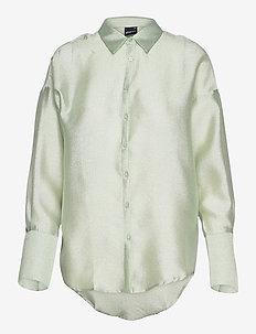 Milly shirt - långärmade skjortor - mint