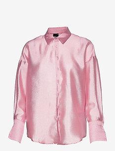 Milly shirt - långärmade skjortor - pink