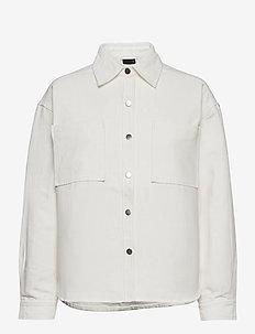 Fanny shacket - overshirts - offwhite
