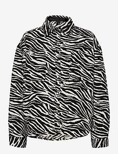 Fanny shacket - overshirts - zebra