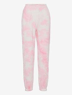 Jackie sweatpants - sweatpants - pink tye die (3987)