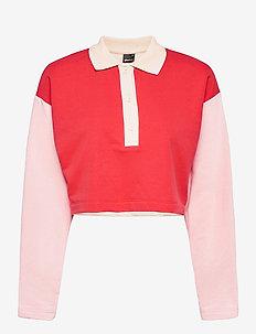 Jessy sweater - polohemden - multi pink (3970)